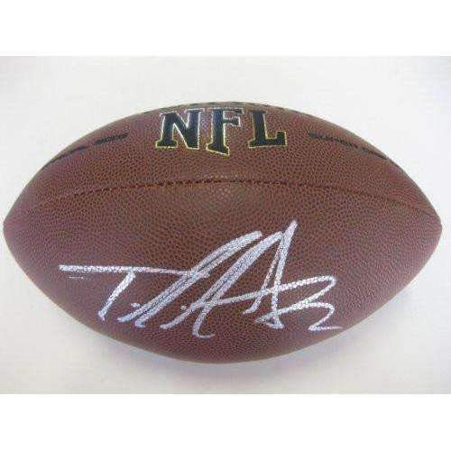 Taylor Mays, Cincinnati Bengals, San Francisco 49ers, Sf, Usc Trojans, Signed, Autographed, NFL Football, a COA with the Proof Photo of Taylor Signing Will Be Included