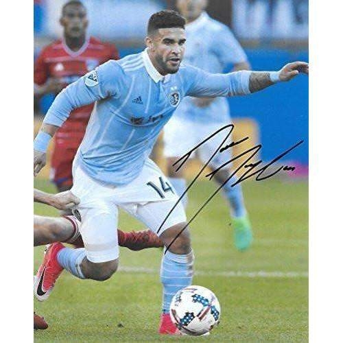 Dom Dwyer, Sporting Kansas City, Signed, Autographed, 8x10 Photo, a Coa with the Proof Photo of Dom Signing Will Be Included.