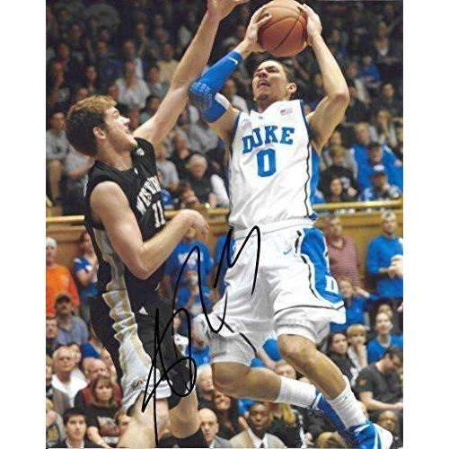 Austin Rivers, Duke Blue Devils, signed, autographed, 8x10 photo - COA and proof photo included