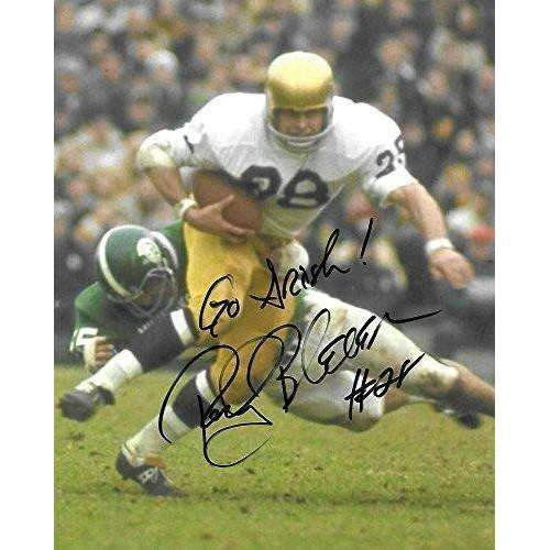 Rocky Bleier, Notre Dame Fighting Irish, Signed, Autographed, 8X10 Photo, a COA with the Proof Photo of Rocky Signing Will Be Included