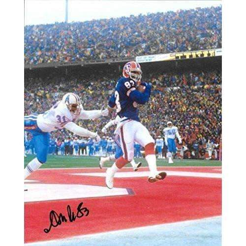 Andre Reed, Buffalo Bills, 2014 HOF, signed, autographed, 8x10 photo - COA and proof photo included.