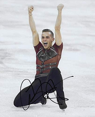 Adam Rippon USA Olymic figure skater signed autographed 8x10 photo. proof COA