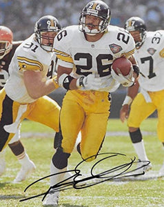 Rod Woodson Pittsburgh Steelers signed 8x10 photo proof COA