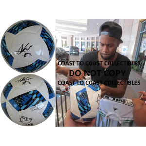 Andrew Farrell New England Revolution signed, autographed MLS soccer ball - COA and proof photo