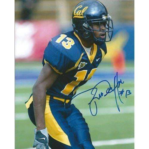 Dante Hughes, Cal, California Bears, San Diego Chargers, Signed, Autographed, 8x10 Photo, Coa