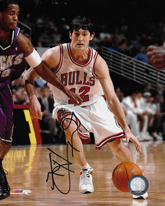 Kirk Hinrich signed Chicago Bulls basketball 8x10 photo COA