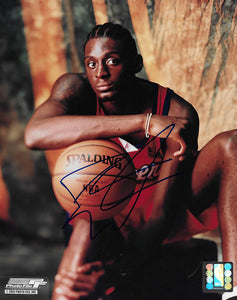 Darius Miles Los Angeles Clippers signed basketball 8x10 photo COA.