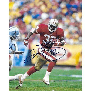 Ricky Watters, San Francisco 49ers, Niners, Signed, Autographed, 8x10 Photo, a COA with the Proof Photo of Ricky Signing the Photo Will Be Included.-'.