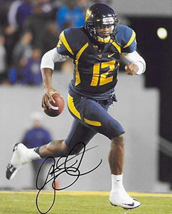 Geno Smith West Virginia Mountaineers signed autographed, 8X10 Photo, COA with the Proof Photo Will Be Included