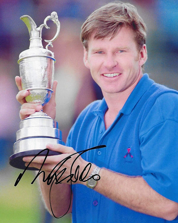 Nick Faldo, PGA Golfer, signed, autographed 8x10 Photo, COA with the proof photo will be included