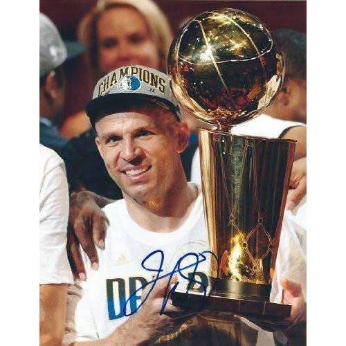 Jason Kidd, Dallas Mavericks, Cal Bears, Usa Team, Nba, Champs, Signed, Autographed, 8x10 Photo, Coa