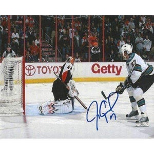 Jeremy Roenick, San Jose Sharks, Signed, Autographed, 8x10 Photo, a Coa with the Proof Photo of Jeremy Signing Will Be Included