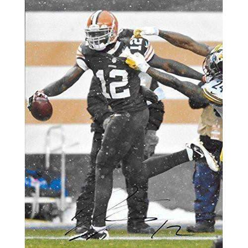 Josh Gordon, Cleveland Browns, Signed, Autographed, 8x10 Photo, a COA with the Proof Photo of Josh Signing Will Be Included--