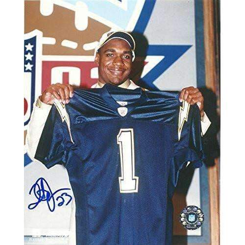 Quentin Jammer, San Diego Chargers, Texas Longhorns, Signed, Autographed, 8x10 Photo, A COA will be included