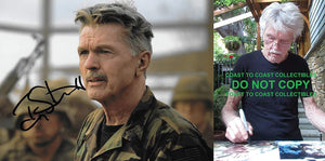 Tom Skerritt actor signed 8x10 photo exact proof COA. STAR
