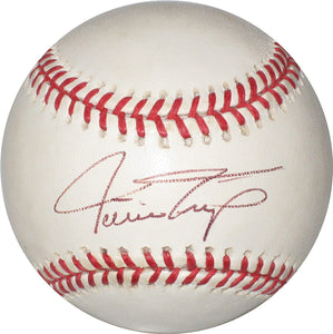 Willie Mays San Francisco Giants signed autographed ONL baseball COA.