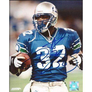 Ricky Watters, Seattle Seahawks, Signed, Autographed, 8x10 Photo, a COA with the Proof Photo of Ricky Signing the Photo Will Be Included
