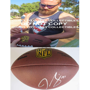 Josh Sitton Green Bay Packers, Signed, Autographed, NFL Duke Football,a COA with the Proof Photo of Josh Signing Will Be Inlcuded