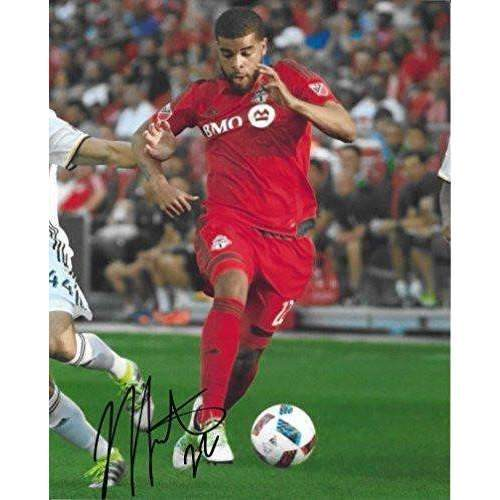 Jordan Hamilton, Toronto FC, Canada, Signed, Autographed, 8X10 Photo, a Coa with the Proof Photo of Jordan Signing Will Be Included