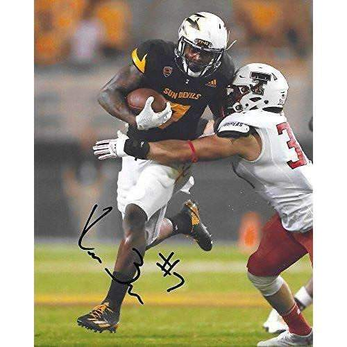 Kalen Ballage, Arizona State Sun Devils, ASU, Signed, Autographed, 8X10 Photo, a COA with the Proof Photo of Kalen Signing Will Be Included,,