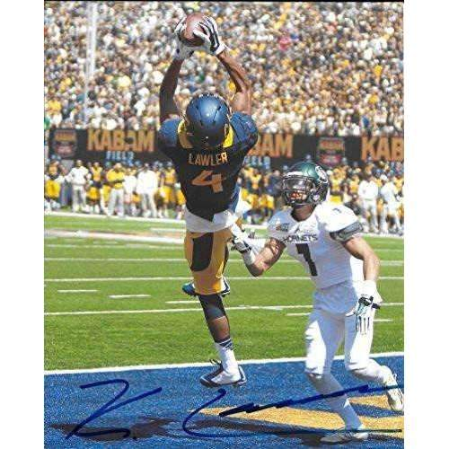 Kenny Lawler, Cal Bears, California Golden Bears, Signed, Autographed, 8x10 Photo, a COA Will Be Included
