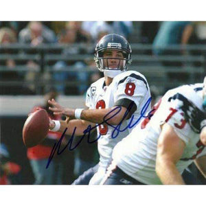 Matt Schaub, Houston Texans, Atlanta Falcons, Signed, Autographed 8x10, Photo, Coa with Proof