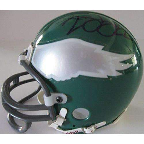 Duce Staley Philadelphia Eagles, Signed, Autographed, Mini Helmet, a COA Will Be Included