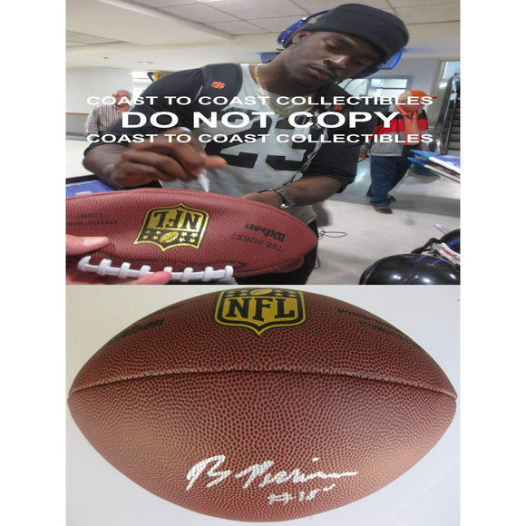 Breshad Perriman Baltimore Ravens, Signed, Autographed, NFL Duke Football,