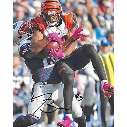 Tyler Boyd Cincinnati Bengals, Signed, Autographed, 8X10 Photo, a COA with the Proof Photo of Tyler Signing Will Be Included..