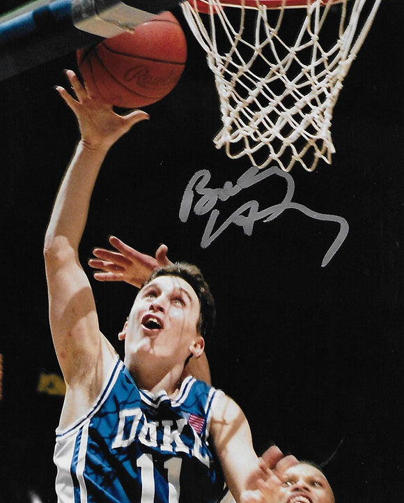 Bobby Hurley Duke Blue Devils signed, autographed 8x10 photo. proof COA