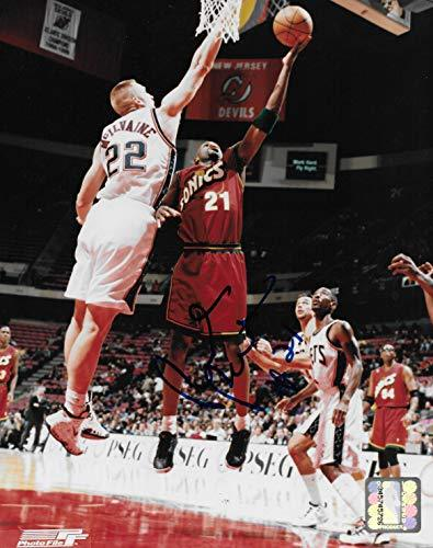 Ruben Patterson autographed Seattle Supersonics basketball 8x10 photo COA