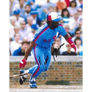 Tim Raines, Montreal Expos, Signed, Autographed, 8X10 Photo, a COA Will Be Included