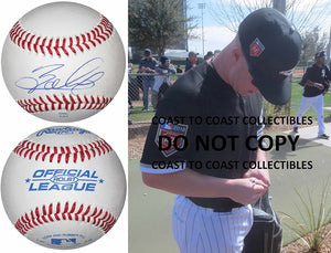 Zack Collins Chicago White Sox signed autographed baseball COA exact proof