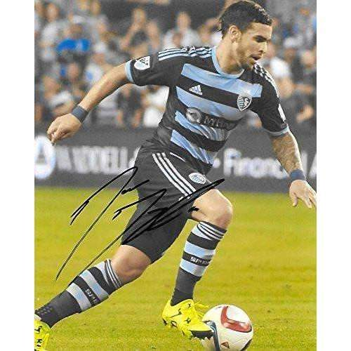 Dom Dwyer, Sporting Kansas City, Signed, Autographed, 8x10 Photo, a Coa with the Proof Photo of Dom Signing Will Be Included
