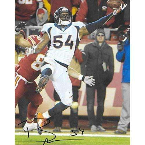 Brandon Marshall, Denver Broncos, signed, autographed, football 8x10 Photo - COA and Proof