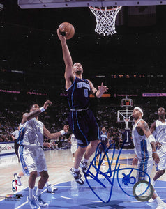 Carlos Boozer signed Utah Jazz basketball 8x10 photo COA