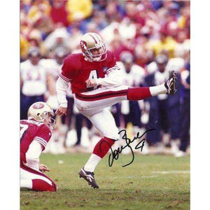 DOUG BRIEN,SAN FRANCISCO 49ERS,NINERS,CALIFORNIA BEARS,CAL,SIGNED,AUTOGRAPHED,8X10 PHOTO,COA, RARE HARD PHOTO TO FIND