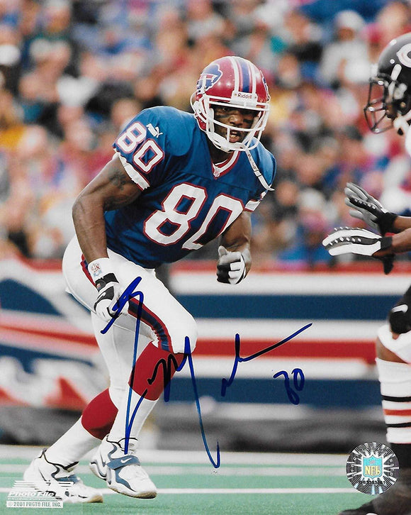 Eric Moulds Buffalo Bills signed autographed, 8x10 Photo, COA will be included