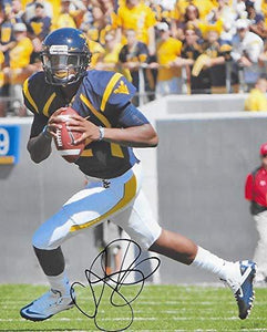 Geno Smith West Virginia Mountaineers signed autographed, 8X10 Photo, COA with the Proof Photo Will Be Included.