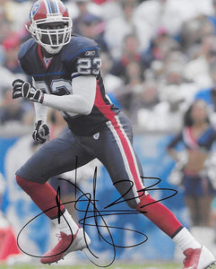 Troy Vincent, Buffalo Bills, Signed, Autographed, Football 8x10 Photo, a COA Will Be Included