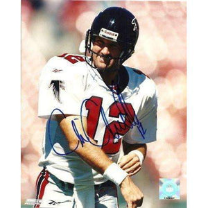 Chris Chandler, Atlanta Falcons, Washington Huskies, Signed, Autographed, 8x10 Photo,