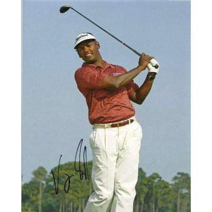 Vijay Singh, Golf, Pga, Golfer, Signed, Autographed, 8x10 Photo, Coa