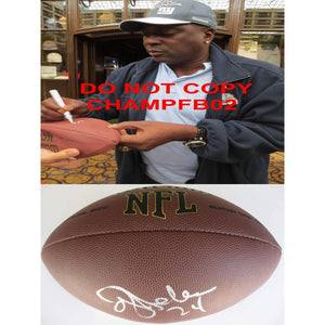 Oj Anderson, Ottis Anderson, New York Giants, Cardinals, Miami, Signed, Autographed, NFL Football, a Coa with the Proof Photo of Ottis Signing Will Be Included with the Football
