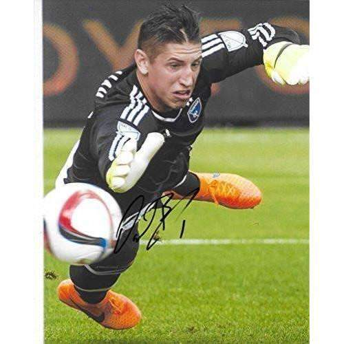 David Bingham, San Jose Earthquakes, USA, Signed, Autographed, 8x10 Photo, a Coa with the Proof Photo of David Signing Will Be Included..