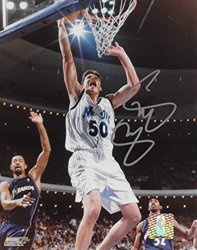 Mike Miller signed Orlando Magic basketball 8x10 photo COA.