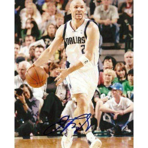 JASON KIDD DALLAS MAVERICKS,SIGNED,AUTOGRAPHED 8X10,PHOTO,COA