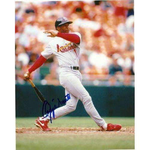 OZZIE SMITH ST LOUIS CARDINALS,CARDINALS,THE WIZARD,HALL OF FAME,HOF,SIGNED,AUTOGRAPHED 8X10,PHOTO,COA,PROOF PIC