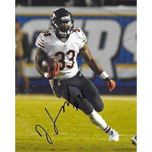 Jeremy Langford Chicago Bears, Michigan State, Signed, Autographed, 8X10 Photo, a COA with the Proof Photo of Jeremy Signing Will Be Included..