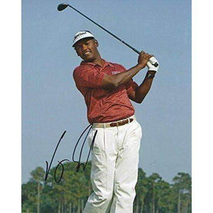 Vijay Singh, Golf, PGA, Golfer, Signed, Autographed, 8x10 Photo, Coa.