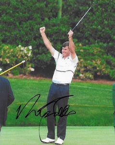 Nick Faldo, PGA Golfer, signed, autographed, 8x10 Photo, COA with the proof photo will be included